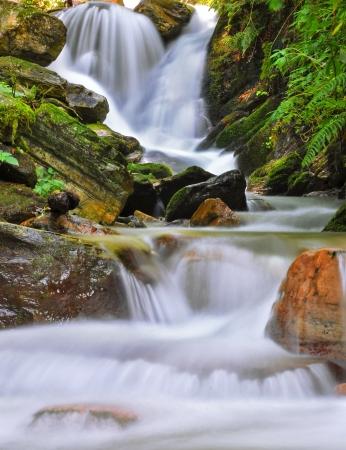 close shot of a waterfall Stock Photo - 16570781