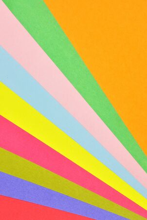 colorful pastel papers Stock Photo