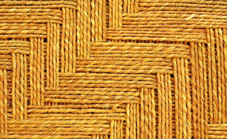 close up of basket texture photo