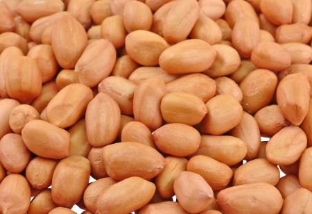 goober peas: close up of seeds of ground nut