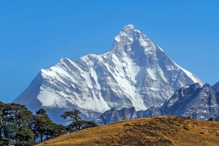 mountain Peak  nanda devi