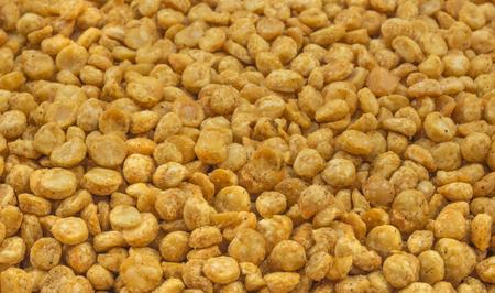 grams: fried bengal grams  namkeen  Stock Photo