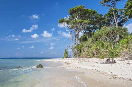 Laxmanpur Beach in Neil Island, Andaman, India
