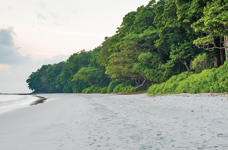 famous Radha nagar Beach in Andaman, India