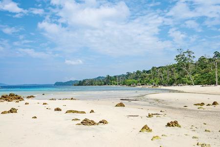 Elephant Beach in Havelock Island, India Standard-Bild