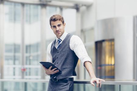 Portret van de zakenman Stockfoto
