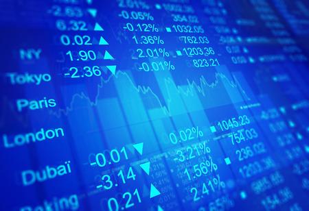 Stock Market exchange Standard-Bild
