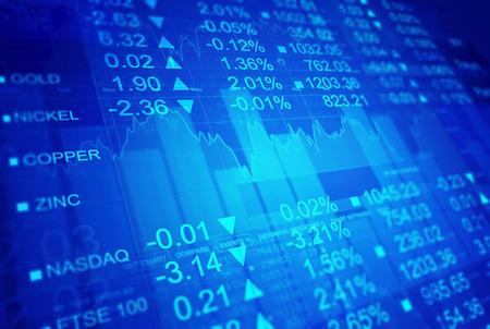 stock market exchange: Stock market exchange Stock Photo