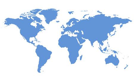 mapa mundi: Mapa del mundo Foto de archivo