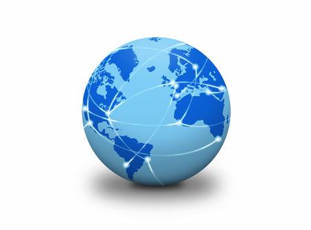 no color: Global network