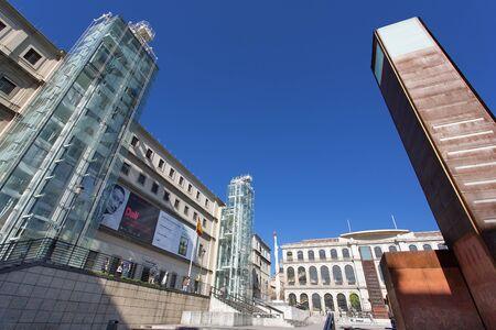 Spain, Madrid, Museo Nacional Centro de Arte Reina Sofia