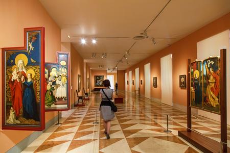 Spain, Madrid, Thyssen-Bornemisza Museum