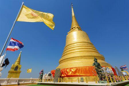 Thailand, Bangkok, Golden Mount Temple.
