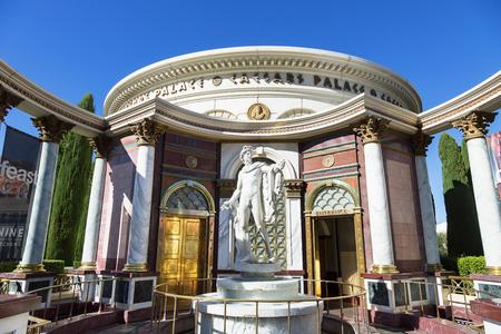 Statue outside Caesars Palace, Las Vegas Editorial