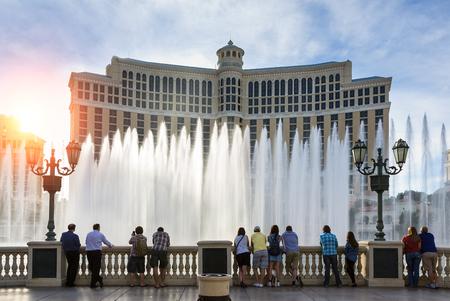 Fontaines du Bellagio, Bellagio Resort and Casino, Éditoriale