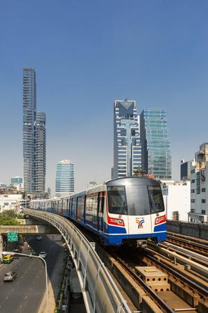 Thailand, Skytrain in Bangkok