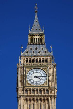 Europe, United Kingdom, England, London, Big Ben clock tower