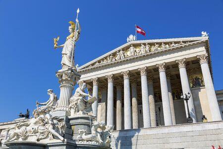 Austria, Viena, edificio del parlamento