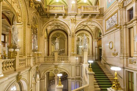 Austria, Vienna, Opera House, The Main Hall 版權商用圖片