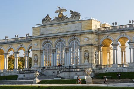 Austria, Vienna, Gloriette Vienna in Schonbrunn Palace
