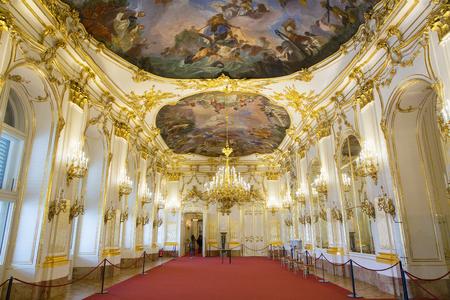 Austria, Vienna, Interior of Schonbrunn Palace