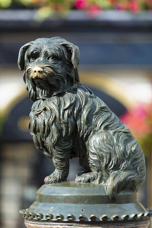 Greyfriars Bobby statue outside Greyfriars Churchyard, Edinburgh