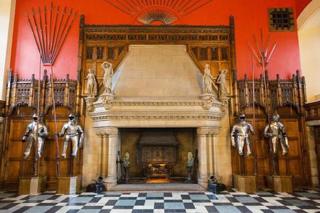 Scotland, Edinburgh Castle, Great Hall 新聞圖片