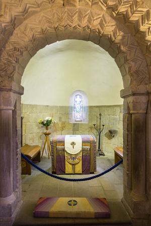 The small Norman St Margaret's chapel, Edinburgh Castle, is the oldest building in Edinburgh