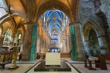 St. Giles' Cathedral, Edinburgh, Scotland 新聞圖片