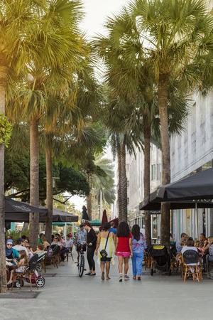 Miami Beach,  Lincoln Road 新聞圖片