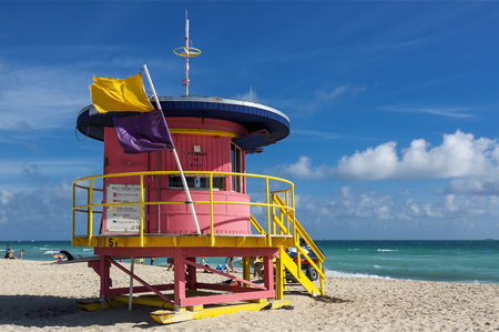Miami, Lifeguard tower on South Beach