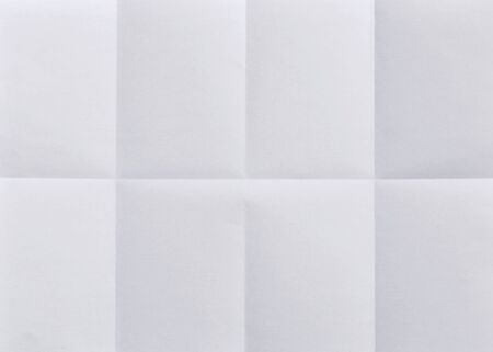 crease: folded plain paper