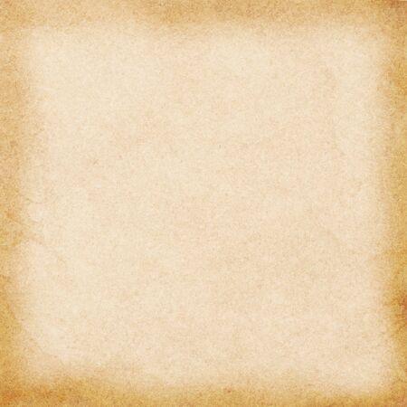 오래 된 빈 스테인드 베이지 색 빈티지 종이 텍스처