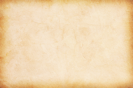 old empty stained beige vintage paper texture Banco de Imagens