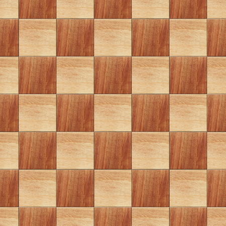 dirty room: Seamless natural wooden tiled parquet texture background Stock Photo