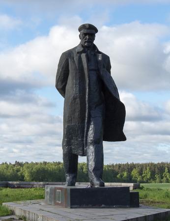 gorki: a monument to Vladimir Lenin in the village of Gorki Editorial