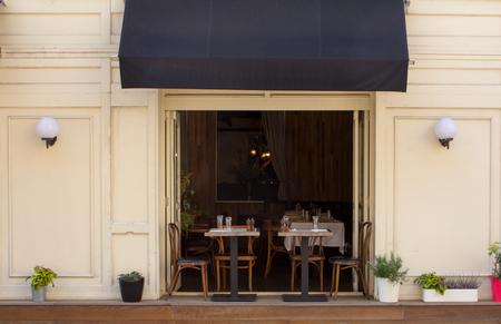 gezellig cafe in de oude baan in Moskou