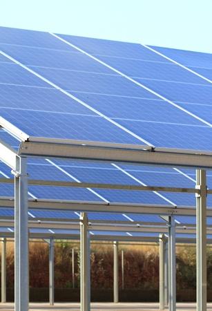 solar cells photo