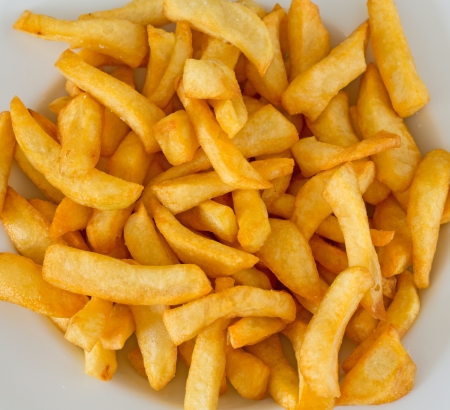 french fries Imagens