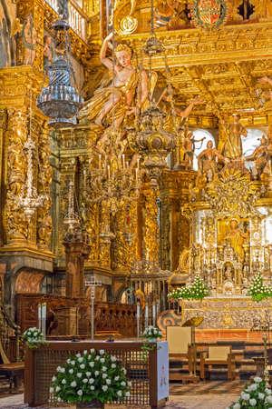 botafumeiro and altar