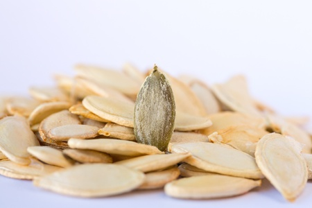 pumpkin seeds Stock Photo