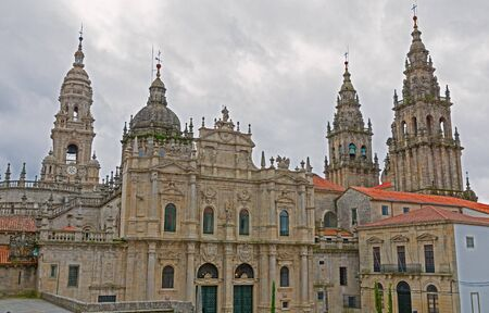 Cathedral of Santiago Azabacheria Stock Photo - 14308769