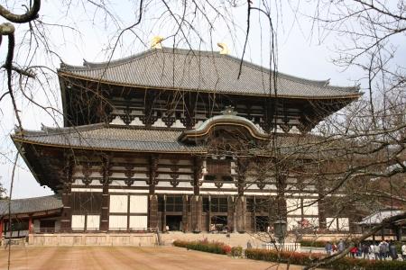 Nara temple, japan Editorial