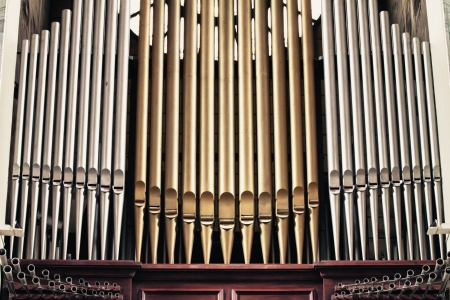 Church organ  Stock Photo - 14308771