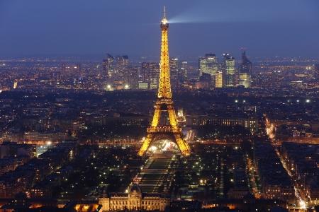Torre Eiffel à noite 4