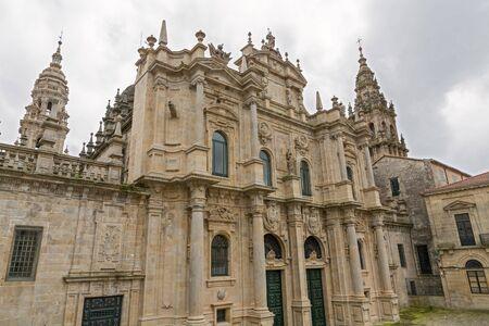 Cathedral of Santiago Azabacheria Stock Photo - 14411531