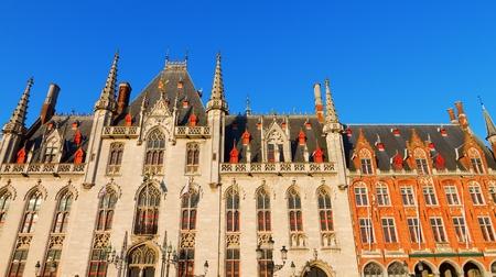belgium: Town Hall, Bruges Editorial