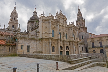 Cathedral of Santiago Azabacheria Stock Photo - 14491444