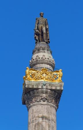 leopold: Leopold Statue closeup Stock Photo