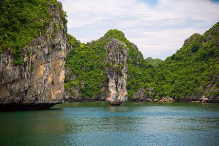 ha: Ha long Bay in Vietnam